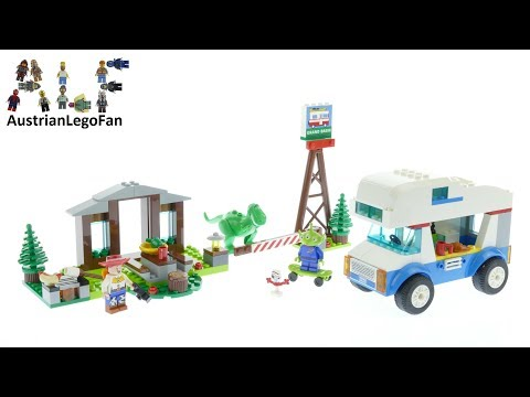 Vidéo LEGO Toy Story 10769 : Les vacances en camping-car Toy Story 4