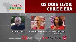 #aovivo | Os dois 11 de setembro: Chile e Estados Unidos