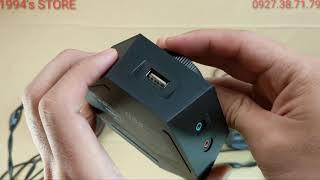 Headset Gaming Plextone G600 plus Sound Amplifier GS5 Surround Sound 7.1