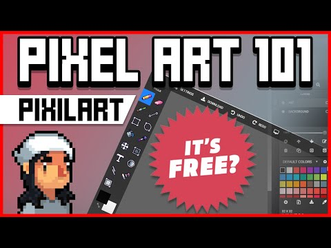 Pixel Art 101: Pixilart Tutorial