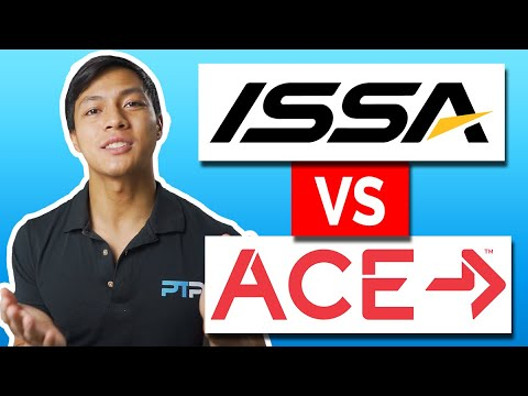 ISSA vs ACE Certification - Which is best for you in 2021 ... - YouTube