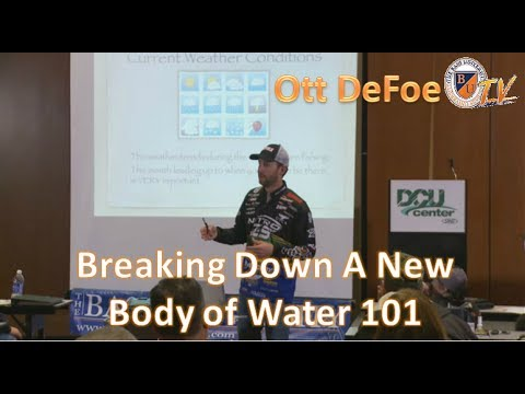 Bass Fishing on New Bodies of Water w/ OTT DEFOE-Seasonal Patterns, Tips, and Tactics