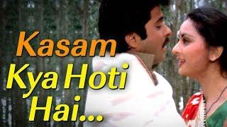 Kasam Kya Hoti Hai (Sad) (HD) - Kasam Song - Anil apoor - Poonam Dhillon - Pran - Filmigaane