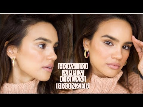 HOW TO PERFECTLY APPLY CREAM BRONZER + THE BEST ONES! | DACEY CASH