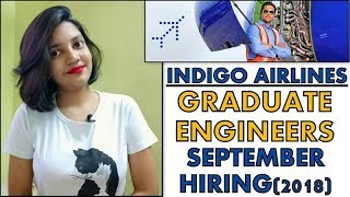 Indigo Airlines Hiring Graduate Engineers | Engineer Trainee | Boys and Girls | How to Apply