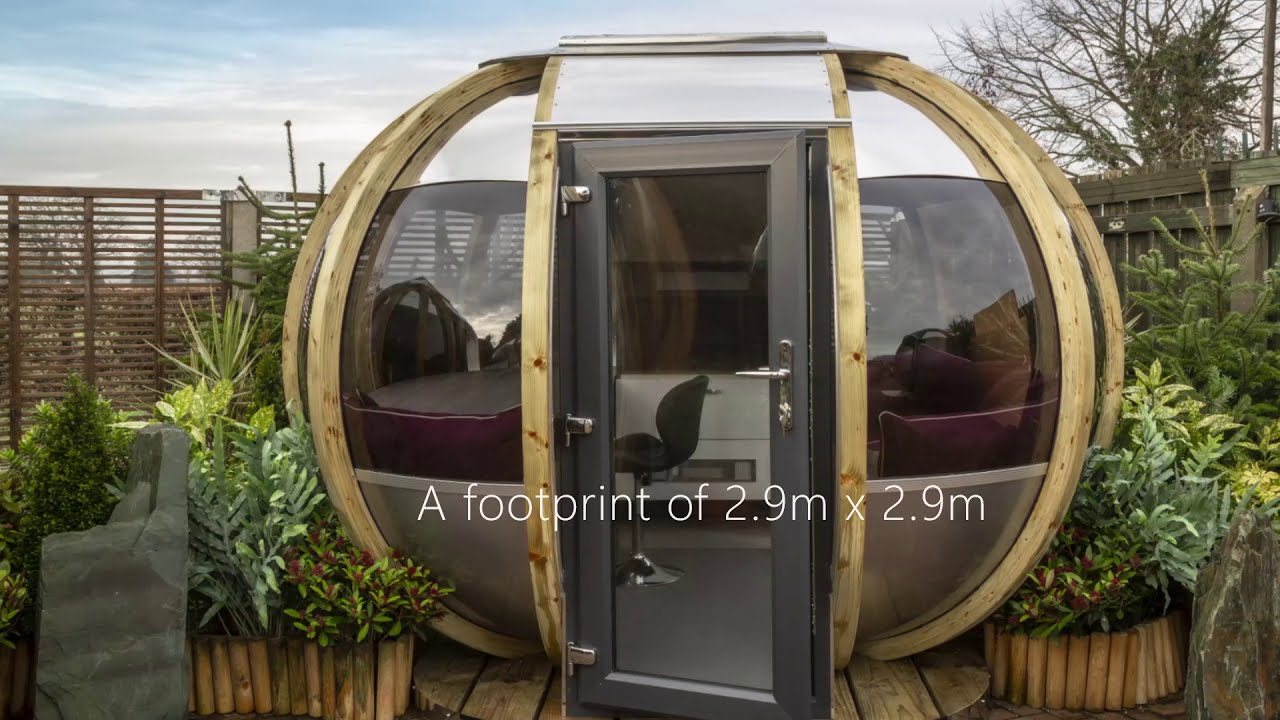 Medium Summerhouse Garden Pod