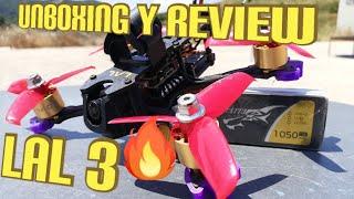 Unboxing, Review y pruevas de vuelo Eachine Lal3