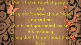 Jon B. - They don't know Lyrics