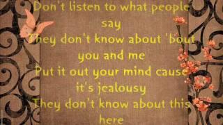 Jon B. - They don't know Lyrics