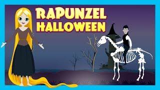 HALLOWEEN STORIES - RAPUNZEL || Rapunzel In Halloween Celebration Story || Kids Hut Stories