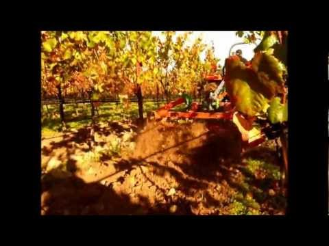 Fall seed bed prep and cover crop seeding