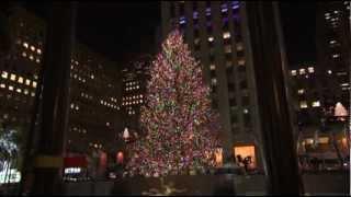 Виктория Джастис, Stars Help Light Rockefeller Center Tree