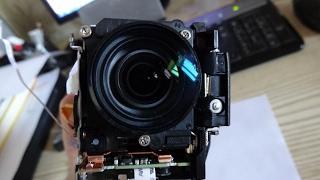Частичная разборка видеокамеры Panasonic hc-v770(Partial disassembly hc-v770).