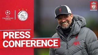 Liverpool's Champions League press conference   Ajax