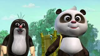 Krtek a panda epizoda 16 - Záchrana před deštěm