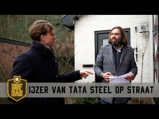 Wijk aan Zee bezaaid met ijzer door uitstoot Tata Steel