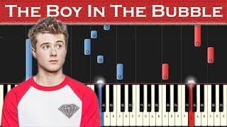 Alec Benjamin   The Boy In The Bubble | Piano Tutorial