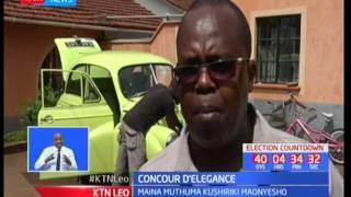 Mkulima Karatina atashiriki katika awamu wa mwaka huu ya maonyesho ya magari Concour D'elegance