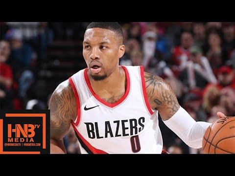 Brooklyn Nets vs Portland Trail Blazers Full Game Highlights / Week 6 / 2017 NBA Season