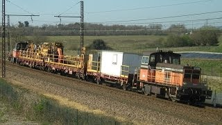 preview picture of video 'Matinée Trains chargée à Chatellerault (86)'
