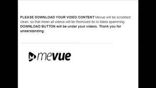 mevue.com IS  NO ALTERNATIVE TO YOUTUBE