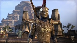 Tour Vivec City with Morag Tong assassin Naryu Virian in the first