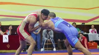 вольная борьба, бурятские борцы в Туве, чемпионат СФО