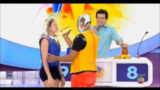 Mulheres no Passa ou Repassa 21/09/2014 - torta na cara/pie in the face