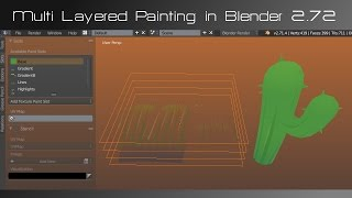 Multi Layered Painting in Blender 2.72