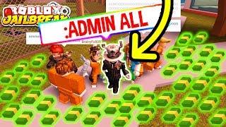 Roblox Jailbreak GIVING ADMIN AS ASIMO3089 FOR CASH! *PRANK!*