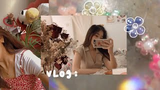 Vlog • Doing All The Things I Love | Making Bead Bracelets, Sewing, & New Phone Cases