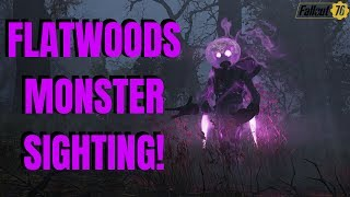 Fallout 76 (Part 10) FLATWOODS MONSTER + UNDERWATER WALKING  & SCORCH KILLING!