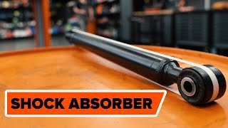 How To Replace Rear Shock Absorbers On VW / AUDI / SKODA TUTORIAL | AUTODOC