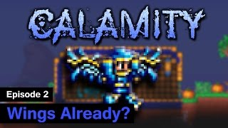 [S1] Terraria Calamity Mod - Episode 2 - Wings already?