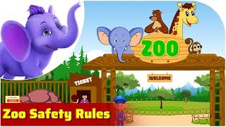 Zoo Safety Rules | Safety Rule Songs | 4K | Appu Series