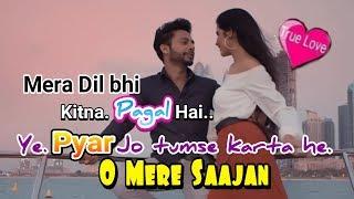 Mera dil bhi kitna pagal | oh mere saajan | saajan new song | new version  | Raju sevak