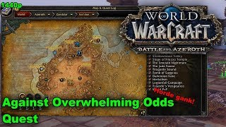 WoW PvP Quest - Against Overwhelming Odds | Ganking The Horde
