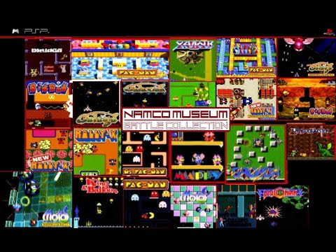 Namco Museum Battle Collection (PSP Gameplay)
