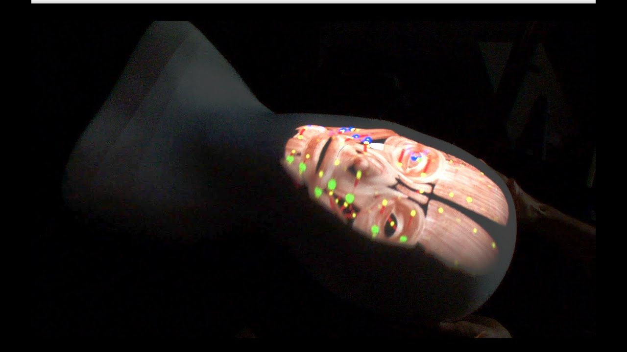 See-Through Anatomical Model Is The Creepiest Use Of Projectors Yet