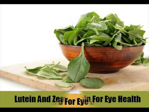 Video 6 Vitamins For Eye Health