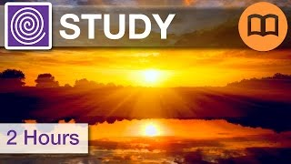 2 Hours: Study Brain Music Playlist, Alpha Waves, Music for Studying