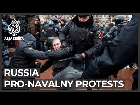 Russia arrests over 3,000 amid nationwide pro-Navalny protests