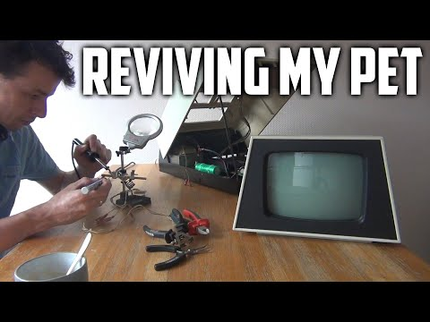 Fixing a Commodore PET/CBM 3016