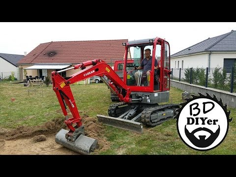 BDiYer - Construction Garage Ossature Bois - Part1
