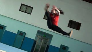 WUSHU TUTORIAL: Running Lotus Kick