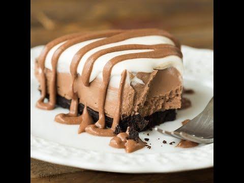 No Bake Brownie Batter Cheesecake Recipe