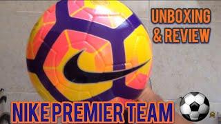 Balón Nike Premier Team Ordem 4 - Unboxing & Review