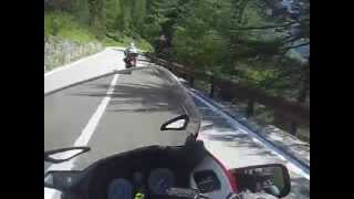 preview picture of video 'Stelvio Pass St1100 chases Ducati ST4S'