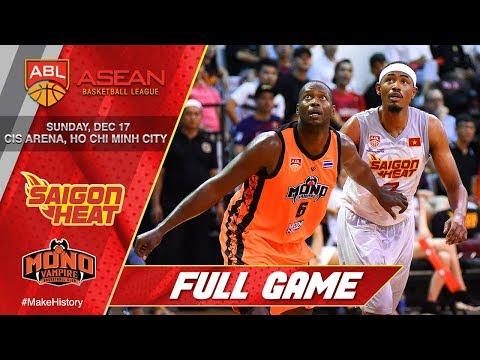 Saigon Heat vs. Mono Vampire   LIVESTREAM   2017-2018 ASEAN Basketball League