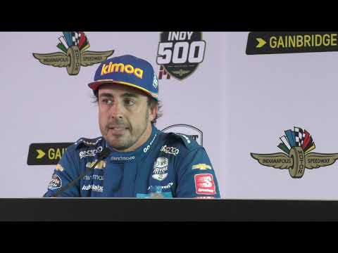 2019 Indy 500: Fernando Alonso Q&A After Qualifying